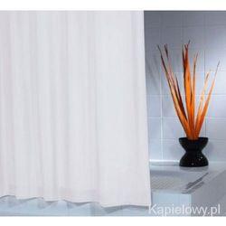 MADISON poliestrowa zasłona prysznicowa biała 180x200cm 45301