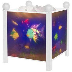 POISSONS ARC-EN-CIEL-Lampka nocna Latarnia Magiczna Wys.19cm, 4366W
