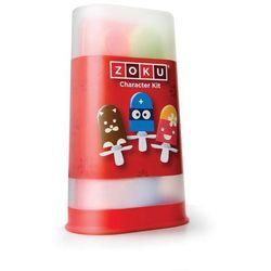Akcesoria do dekorowania lodów na patyku quick pop 17 el. marki Zoku