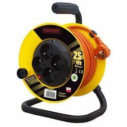 Przedłużacz bębnowy 4GN 10m 3x1,5mm (PZB1-40-10Y) 5902694041213 - Kobi Light - Rabat w koszyku