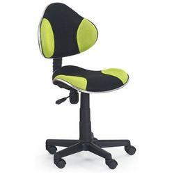 Fotel młodzieżowy Liber - zielono-czarny, V-CH-FLASH-FOT-ZIELONY