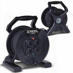 Przedłużacz Zwijany X-Reel 50M OW3x1,5 4GS IP20 (5902082052159)