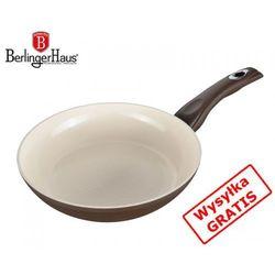 Patelnia ceramiczna 20cm honey comb [bh-1017] marki Berlinger haus