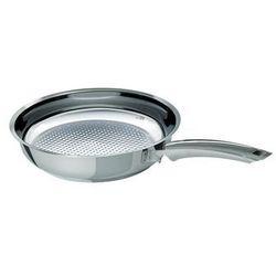- patelnia crispy steelux premium 28 cm 2140028100 marki Fissler