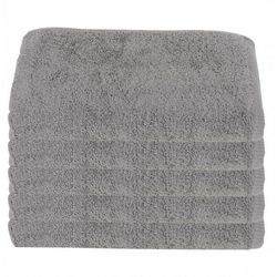 Ręcznik hotelowy jasnoszary 50x100 cm 100% bawełna 500 gr/m2 steel marki Slevo
