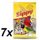 Akinu Sippy deluxe - małe i średnie papugi - 7x450g (pokarm dla ptaków)