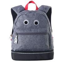 Plecak dziecięcy  eloisa grafitowy 7 litrów, elementy odblaskowe marki Reima