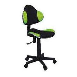 Fotel Q-G2 zielono-czarny - ZADZWOŃ I ZŁAP RABAT DO -10%! TELEFON: 601-892-200
