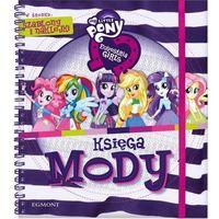 Księga mody equestria girls my little pony z szablonami I naklejkami (2014)