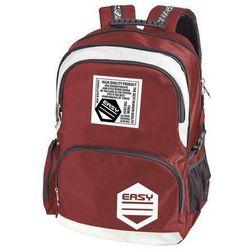 Easy, Plecak szkolno-sportowy, czerwony - produkt z kategorii- Tornistry i plecaki