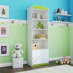Regał do pokoju dziecięcego, pojedynczy, babydreams, 46 cm, zielony