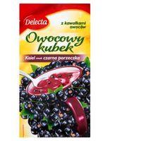 Kisiel DELECTA owocowy kubek 30g - czarna porz.