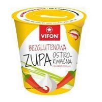 Zupa błyskawiczna bezglutenowa ostro kwaśna z kluskami 60 g Vifon
