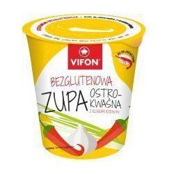 Zupa błyskawiczna bezglutenowa ostro kwaśna z kluskami 60 g Vifon, kup u jednego z partnerów