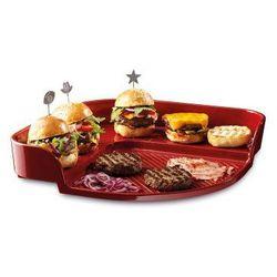 Kamień ceramiczny do pieczenia burgerów Emile Henry czerwony ODBIERZ RABAT 5% NA PIERWSZE ZAKUPY