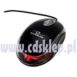 Titanum Mysz optyczna  mini raptor usb 1000dpi tm102