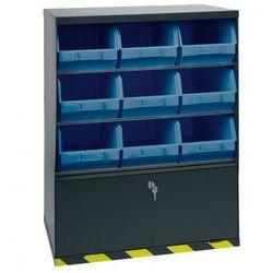 Artplast Szafki z plastikowymi pojemnikami i szufladą, 9 boksów (8010693045204)