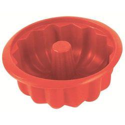 Silikonowa forma do babki Delice czerwona (śr. 20,6 cm)