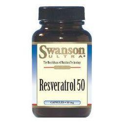Swanson Resweratrol 50 30kaps