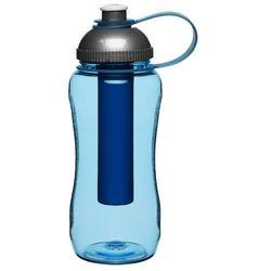 Sagaform - To Go - butelka z wkładem chłodzącym, niebieska - niebieski (7394150162941)