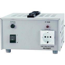 Transformator laboratoryjny Voltcraft IT-1500, gniazdo 230 V, 6,5 A, 1500 VA (transformator elektryczny)