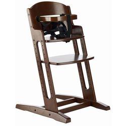 Baby dan  danchair - krzesełko do karmienia brązowe, kategoria: krzesełka do karmienia