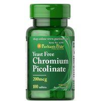 Puritan's Pride Chromium Picolinate 200mcg Yeast Free 100 tabl.