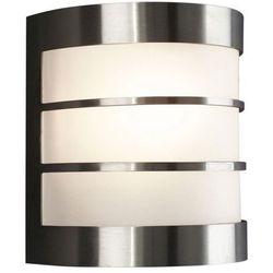 Kinkiet ogrodowy lampa ścienna Philips Calgary 1x60W E27 IP44 inox 17025/47/10 (5412253825562)
