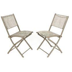 Edomator.pl Zestaw balkonowy 2 krzesła, kategoria: zestawy ogrodowe