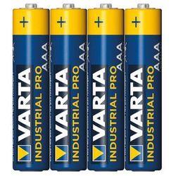 Baterie alkaliczne industrial aaa lr3 4szt - alkaliczna   lr03 marki Varta