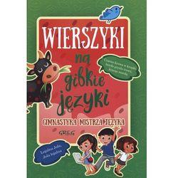 Wierszyki na gibkie języki TW GREG, książka z kategorii Poezja