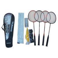 Axer sport Zestaw do badmintona dla 4 graczy