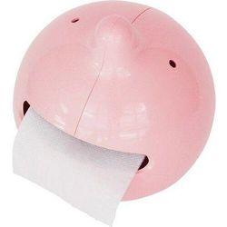 Uchwyt na papier toaletowy mr. p the wiper różowy marki Propaganda