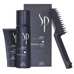 Odsiwiacz w Piance,Sp Men Gradual Tone, CZERŃ/BLACK - Zestaw eliminujący siwe włosy, 60ml + 30ml - szczegóły w HairDoktor - Zagęszczanie Włosów,Odsiwiacze