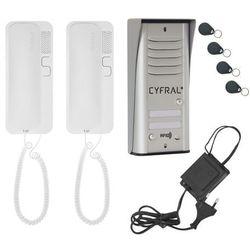 Cyfral Domofon cosmo zestaw 2-lokatorski (5905669169011)