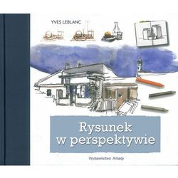 Rysunek perspektywiczny, książka w oprawie twardej