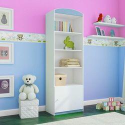 Regał do pokoju dziecięcego, pojedynczy, babydreams, 46 cm, niebieski marki Kocotkids