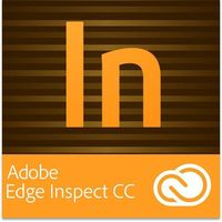 Adobe Edge Inspect CC GOV Multi European Languages Win/Mac - Subskrypcja (12 m-ce)