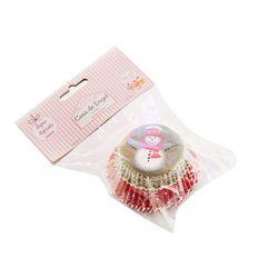 Zestaw papierowe foremki na muffinki na święta marki Home