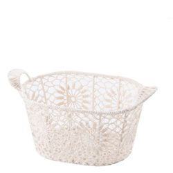 Kosz crochet oval small marki Home&you
