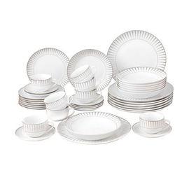 Serwis obiadowy oriana - porcelana -40-częściowy marki Vente-unique