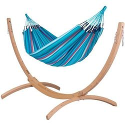- brisa wave - klasyczny hamak dwuosobowy outdoor marki Lasiesta
