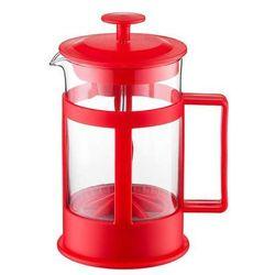 Zaparzacz Lungo 600 ml czerwony DOMOTTI