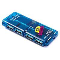 HUB 2.0 -4 PORTY USB -płaski