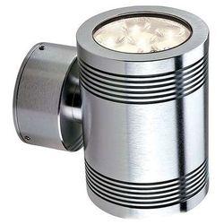 Zewnętrzna lampa ścienna gz/elite1/l clear  kinkiet oprawa led 12w do ogrodu ip54 outdoor aluminium wyprodukowany przez Elstead