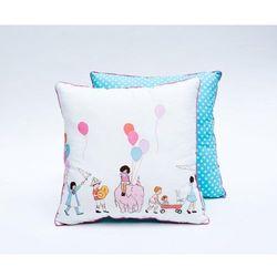 Poduszka dekoracyjna 40x40 cm dzieci na paradzie - produkt z kategorii- Dekoracje i ozdoby dla dzieci