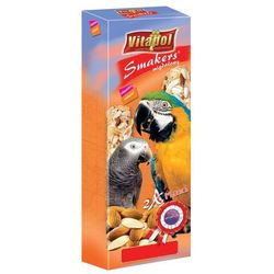 Vitapol Smakers migdałowy kolby maxi dla dużych papug 2szt/450g