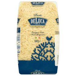 500g orzo makaron z pszenicy durum ryż marki De luca
