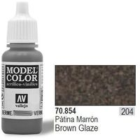 farba nr204 brown glaze 17ml od producenta Vallejo