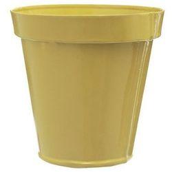 Doniczka blaszana, żółta, odcienie żółtego od producenta 4home
